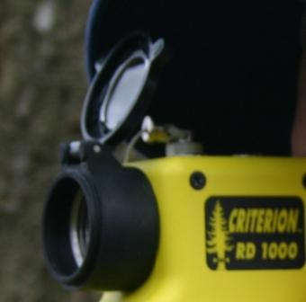 The RD1000 BAF Scope with a Lens Cover